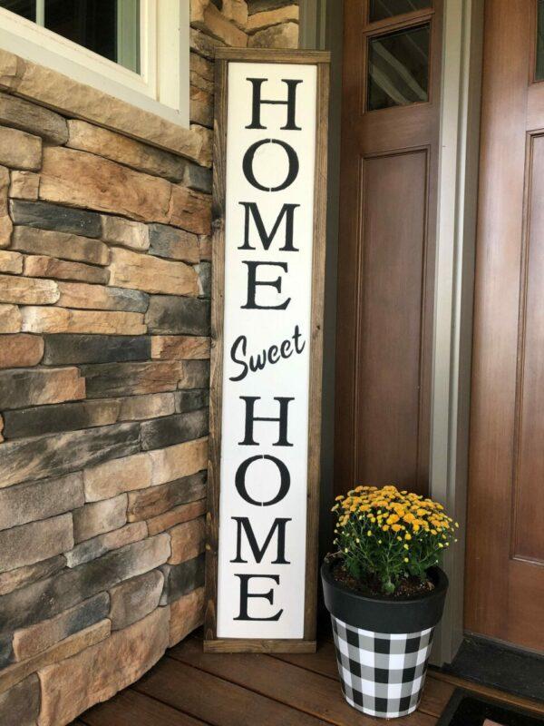 Let It Snow Porch Sign