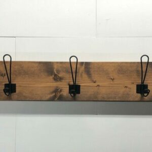 Farmhouse Style Hanger for Entryway, Coats, or Towels