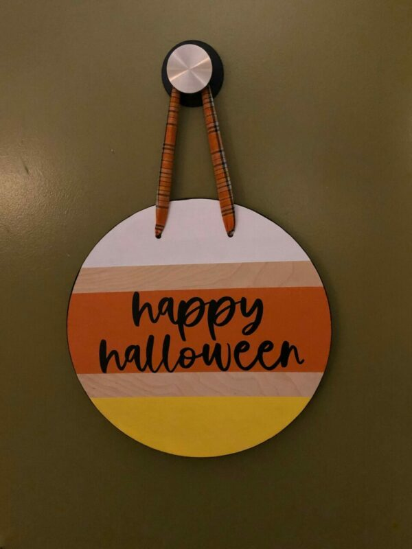 Happy Halloween Door Hanger