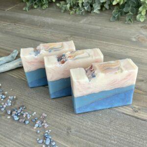 Sea Salt & Lily Silk Artisan Soap