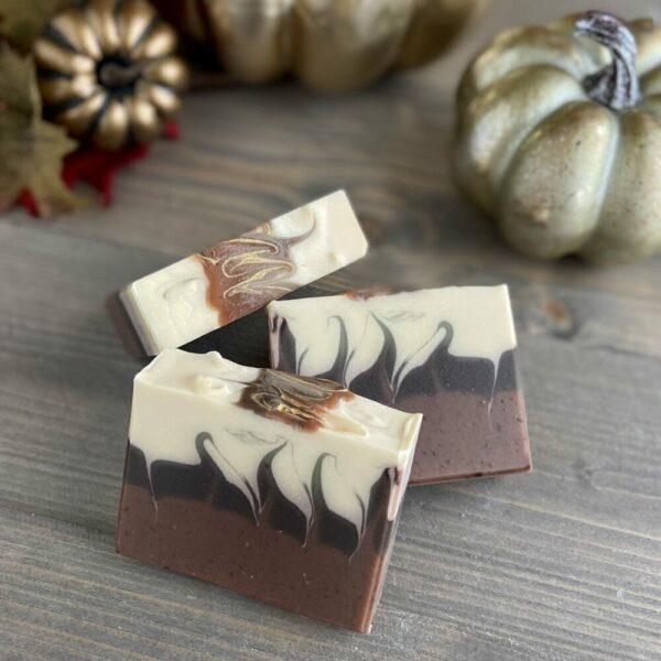 Pumpkin Spice & Cream Silk Artisan Soap