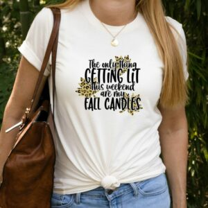 Lit Fall Candles Tee