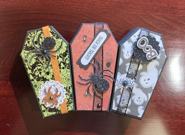 Halloween Treats in a Coffin
