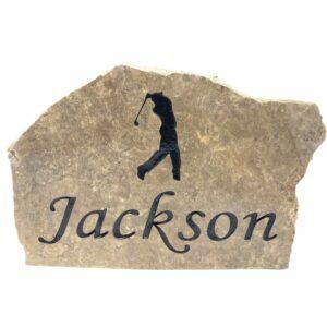Personalized Golf Stone