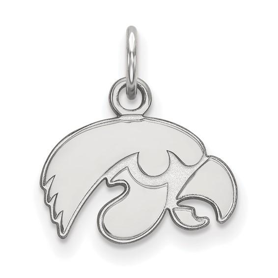 University of Iowa Hawkeyes Sterling Silver Tigerhawk pendant