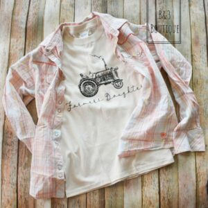 Farmer's Daughter Graphic T-Shirt- Youth