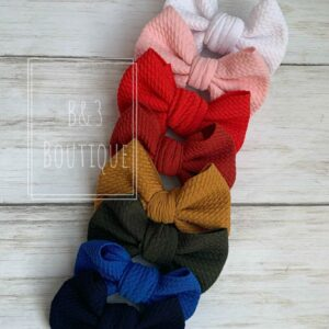 Large Hand Tied Bows-Solid Colors