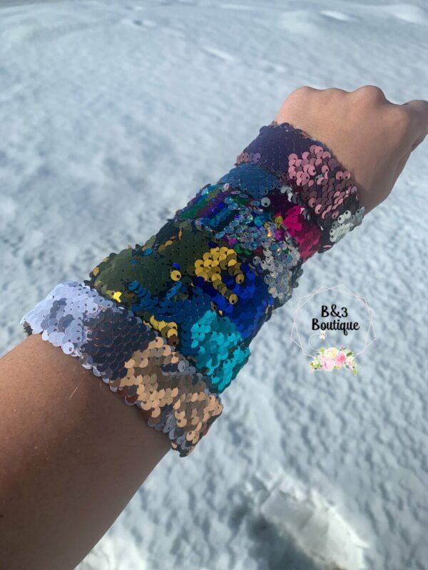 Mermaid Slap Bracelet