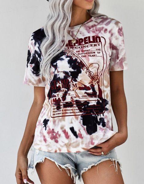 Led Zeppelin Tie Dye Tee