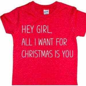 HEY GIRL CHRISTMAS TEE