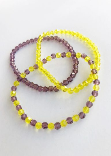 Team Colors Beaded Bracelet