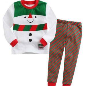 snow carol pajama set