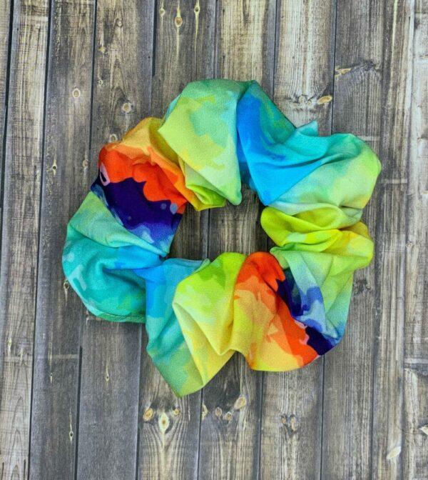 Scrunchies- Rainbow Tie-Dye