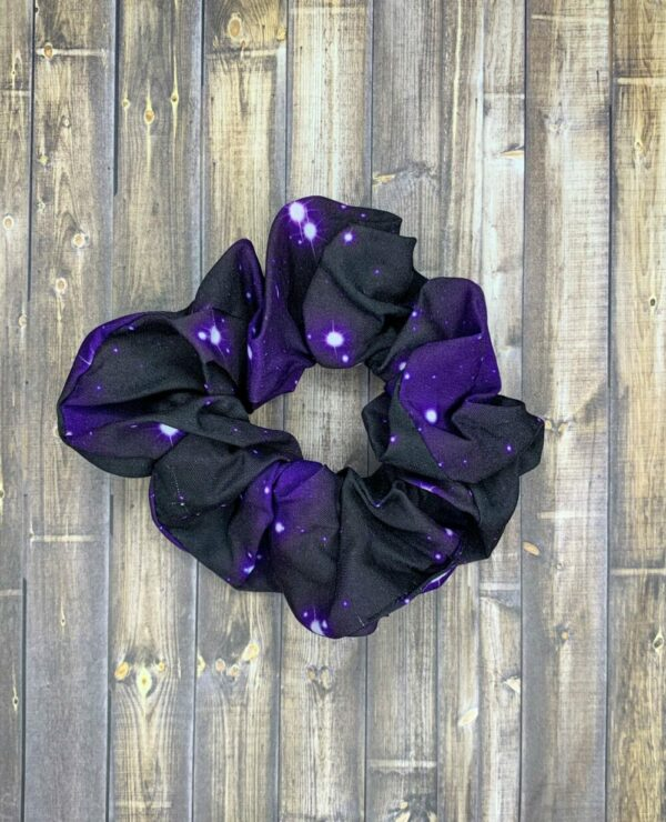 Scrunchies- Purple Galaxy