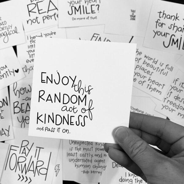 Inspirational SMACK message cards – the {stranger} pack