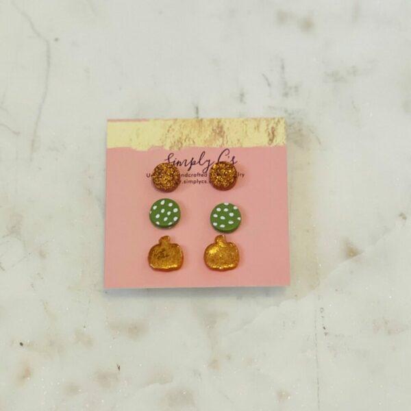 Orange Fall Bundle Earrings