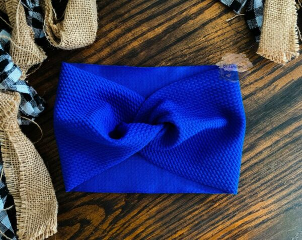 Solid Faux Knot Headbands
