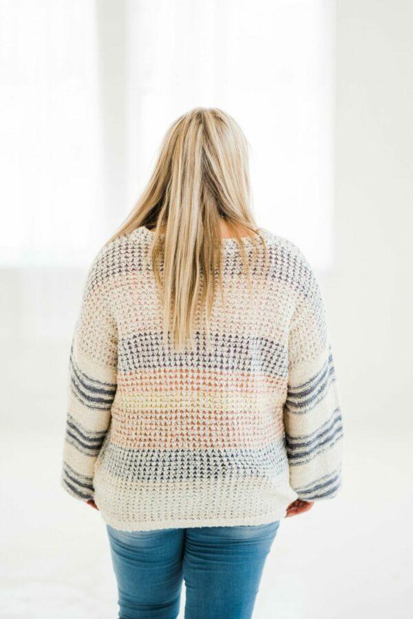 Needing You Sweater In Slate Grey