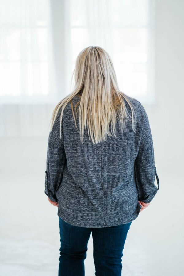 Easy Days Top In Charcoal