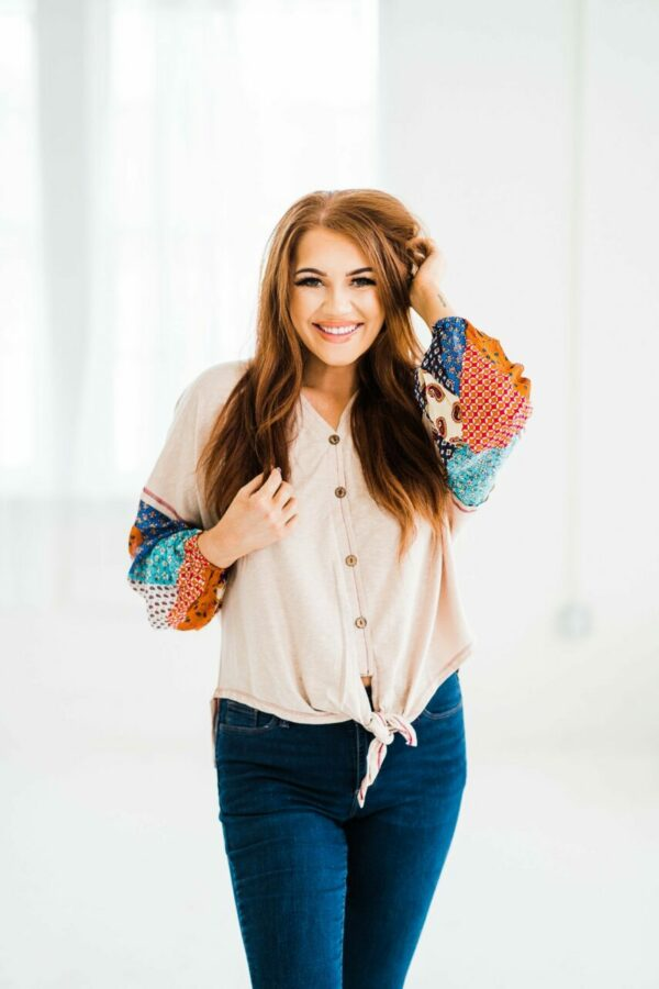 Could This Be Love Boho Sleeve Top