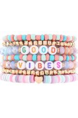 Good Vibes Bracelet Stack