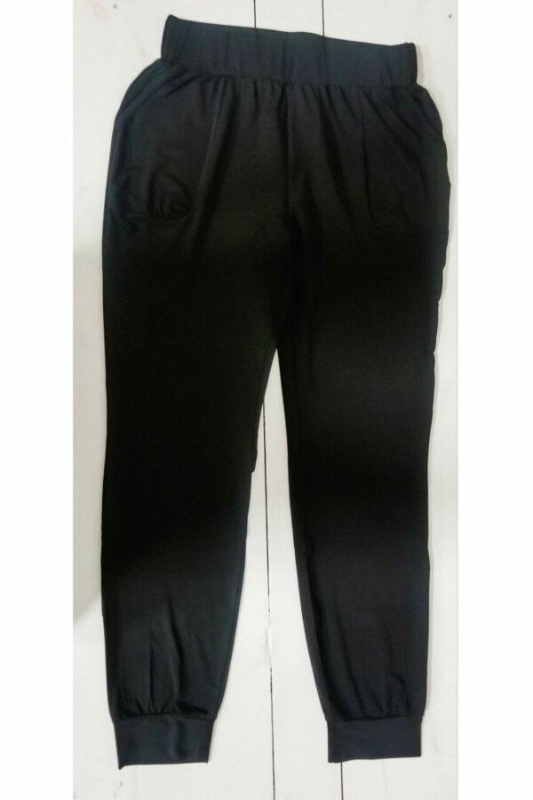 Harem Joggers In Black