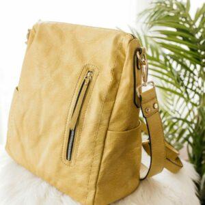 Noor Backpack in Mustard