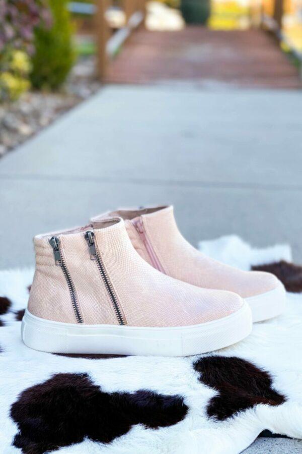 Matisse Dawson Sneaker Wedge in Pink