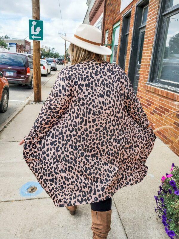 Colton Leopard Cardigan