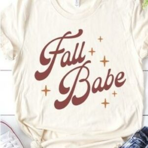 Fall Babe Tee (Curvy)