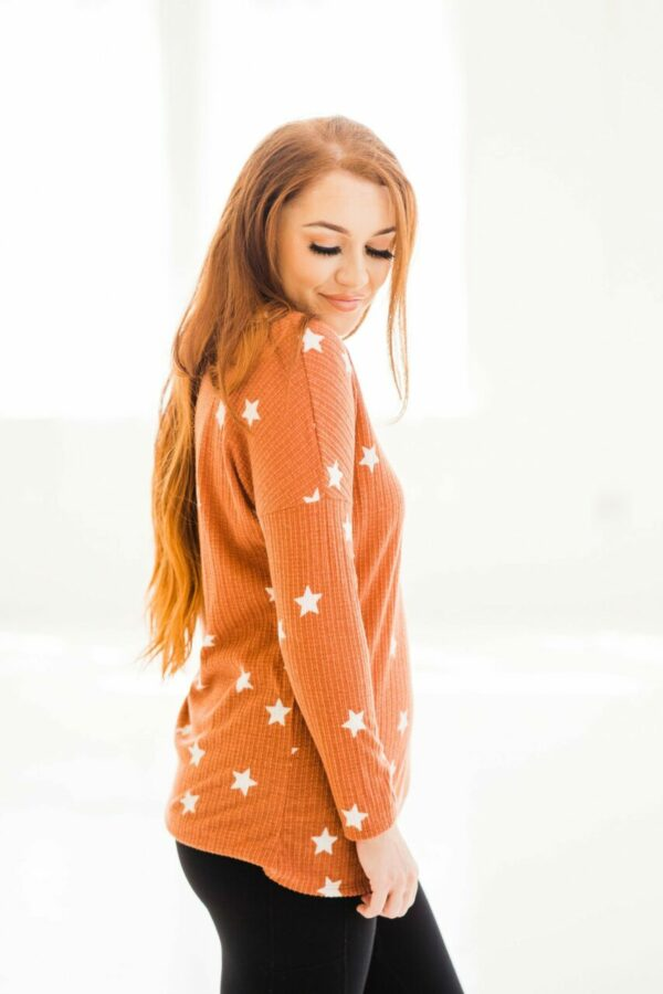 Showstopper Top In Rust