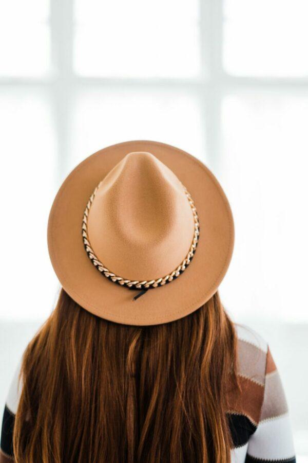 Amelia Hat In Camel