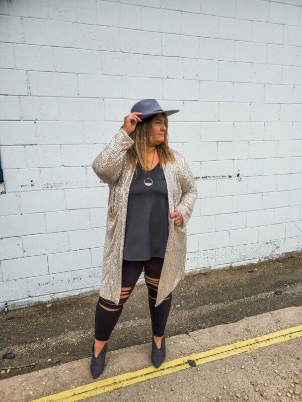 Paparazi Sequin Jacket