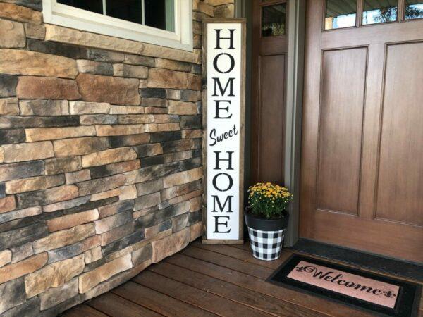 Home Sweet Home Framed Porch Sign