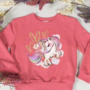 terracotta unicorn sweatshirt
