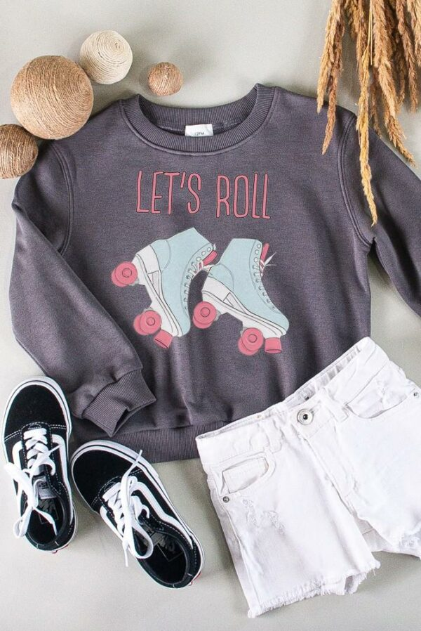 slate let's roll sweatshirt