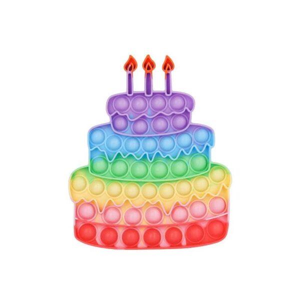 Sensory Fidget Toy | Birthday Cake Shape