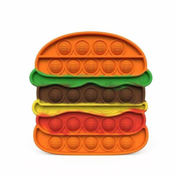 Sensory Fidget Toy | Burger Shape