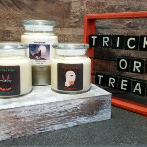 Halloween Seasonal Candles