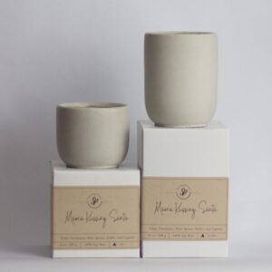Candy Cane Forest – 8 oz and 13 Oz Soy Cement Candle