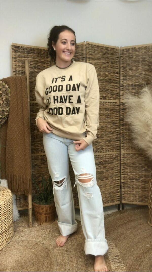 Good Day Crewneck Sweatshirt
