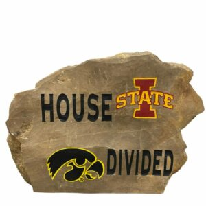 House Divided Engraved Rock