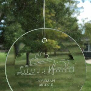 Roseman Bridge Etched Suncatcher