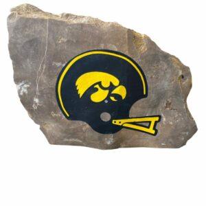 University of Iowa Hawkeyes Engraved Stone