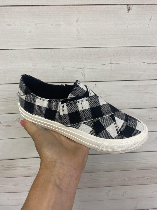 Plaid Along Slip On Shoes