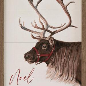 Reindeer Noel – Kendrick Home Wood Sign