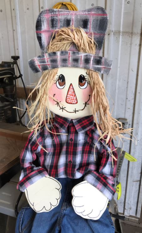 Poseable Scarecrow