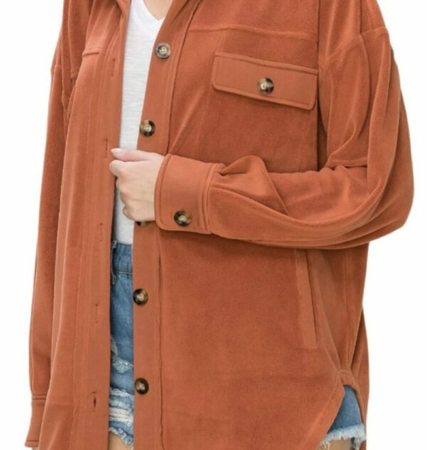 Button Down Oversized Jacket (More Colors)