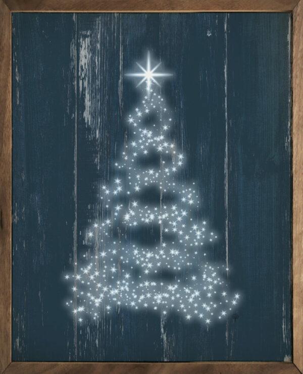 Star Tree Blue – Kendrick Home Wood Sign
