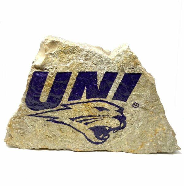 University of Northern Iowa Panthers Engraved Stone